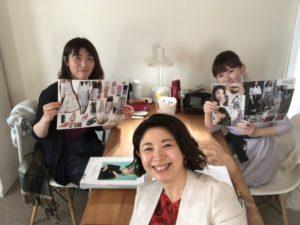 北海道札幌パーソナルカラーリスト養成講座の様子