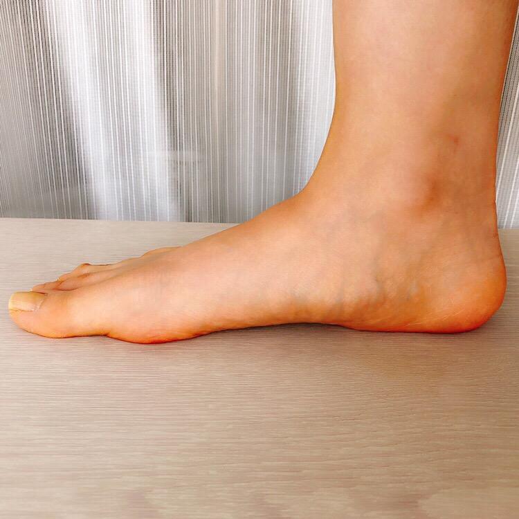 甲薄幅狭い足1