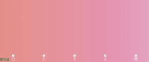 ピンクのグラデーションカラースケール