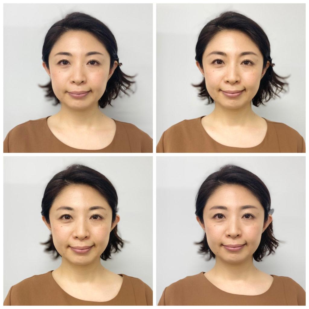 4タイプ眉の形